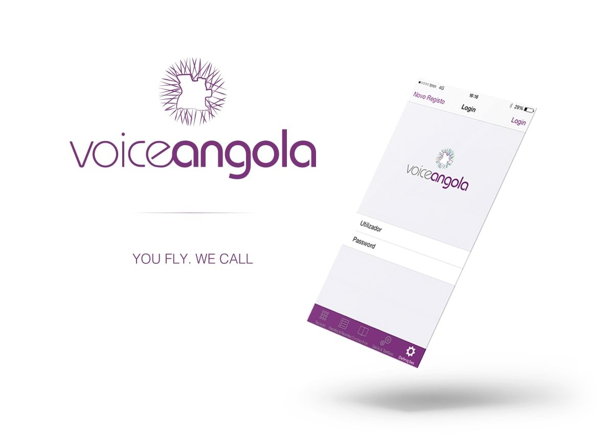 voice angola - Logotype / Visual Identity | joao santos - digital designer