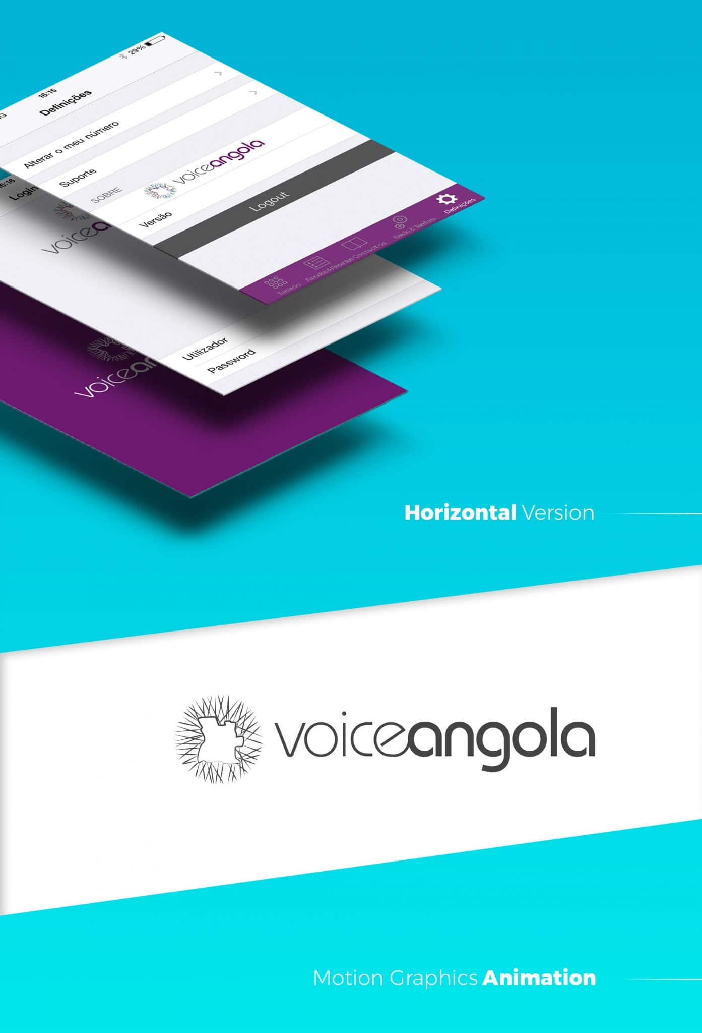 voice angola - visual identity/logo | joao santos - digital designer
