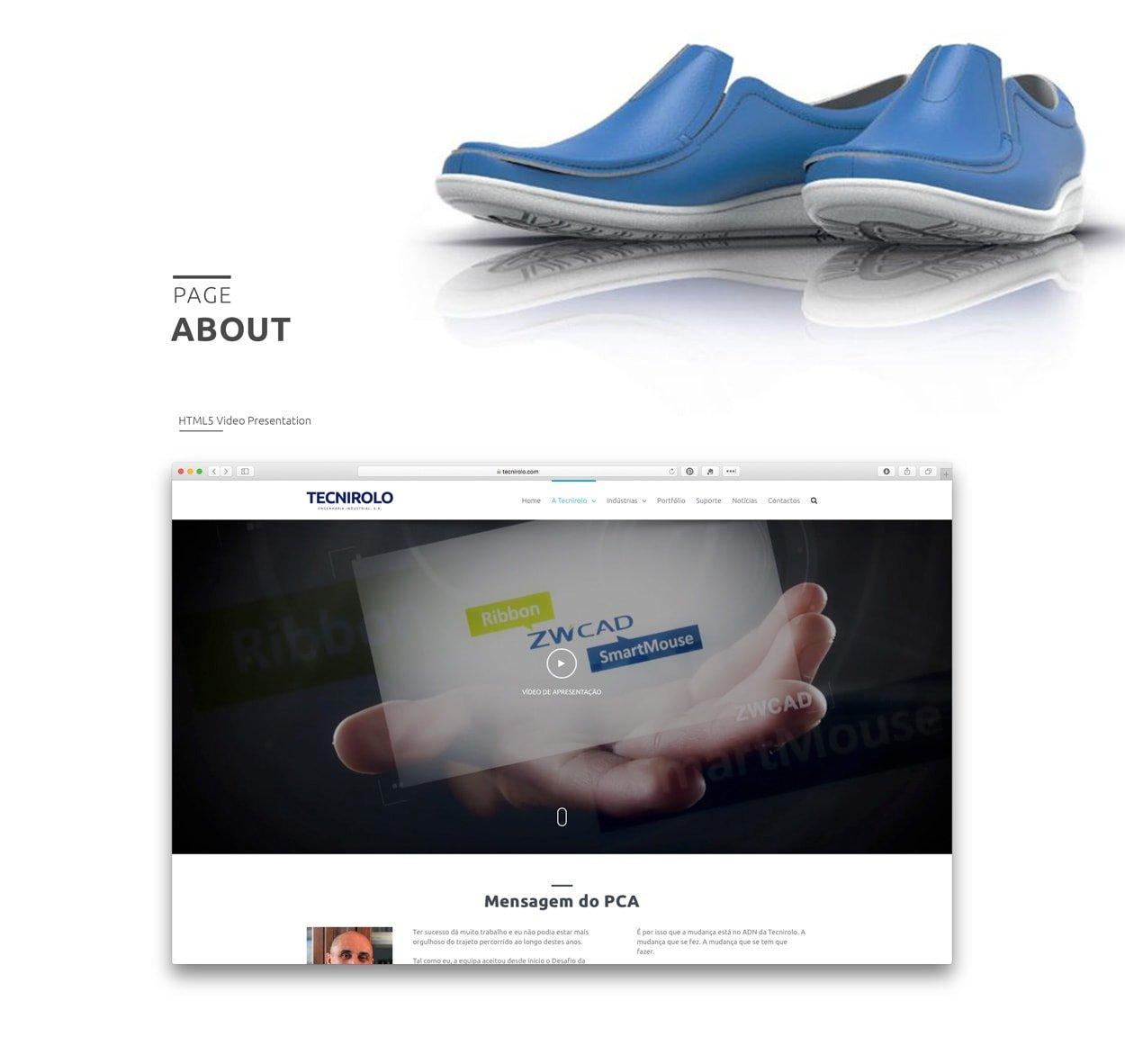 Web Design - Wordpress - Tecnirolo | Joao Santos Freelance - Digital Designer