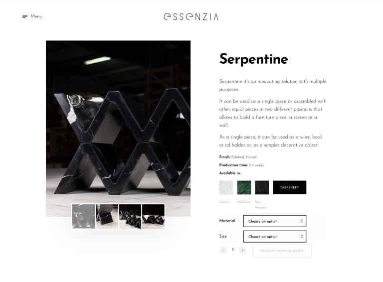 Essenzia - Loja Online - woocommerce | João Santos